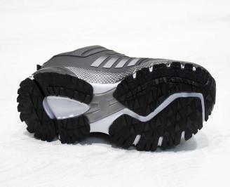Юношески  обувки Bulldozer  еко кожа черни 4