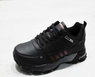 Юношески  обувки Bulldozer  еко кожа черни TALJ-25110