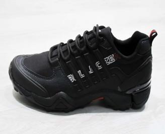 Юношески  обувки Bulldozer  еко кожа черни KGOU-25115