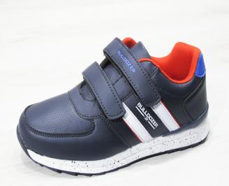 Юношески  обувки Bulldozer  еко кожа сини