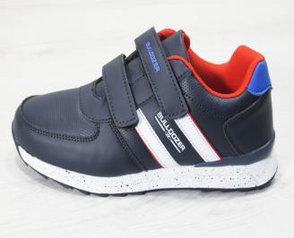 Юношески  обувки Bulldozer  еко кожа сини RWDH-25147