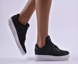 Юношески обувки текстил черни LHJG-26824