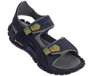 Юношески равни сандали Rider тъмно сини SSVE-24348