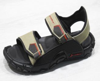 Юношески равни сандали Rider бежови OOJD-24353