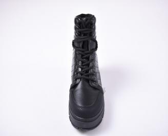 Юношески зимни боти черни JMLZ-1013240